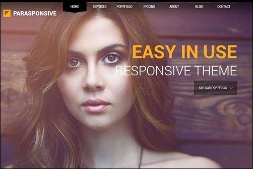 Parasponsive business website template