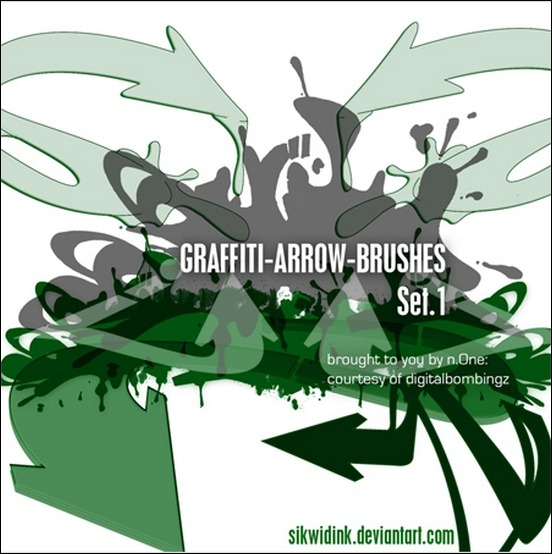 DB-grafitti-arrow-brush-pack