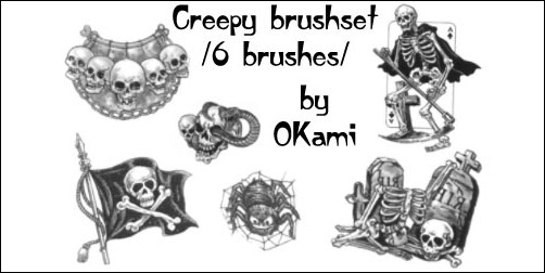 Halloween-theme-brushset