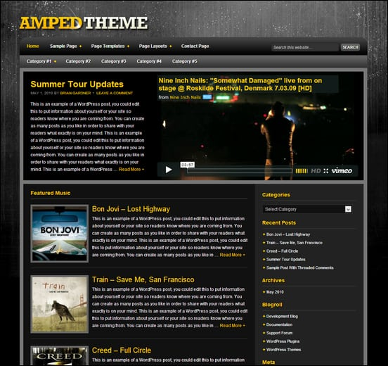 amped-theme