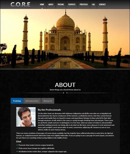 core-responsive-one-page-wordpress--theme