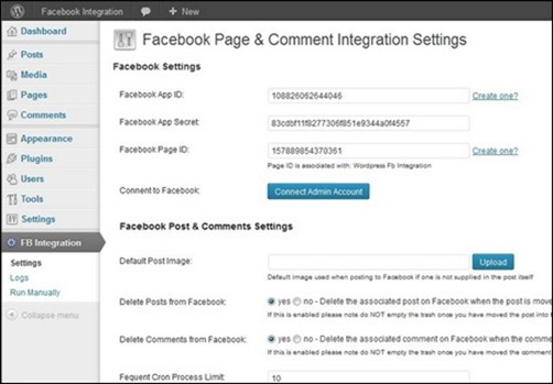 facebook-page-comment-integration