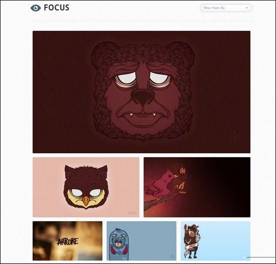focus-a-minimalistic-tumblr-theme