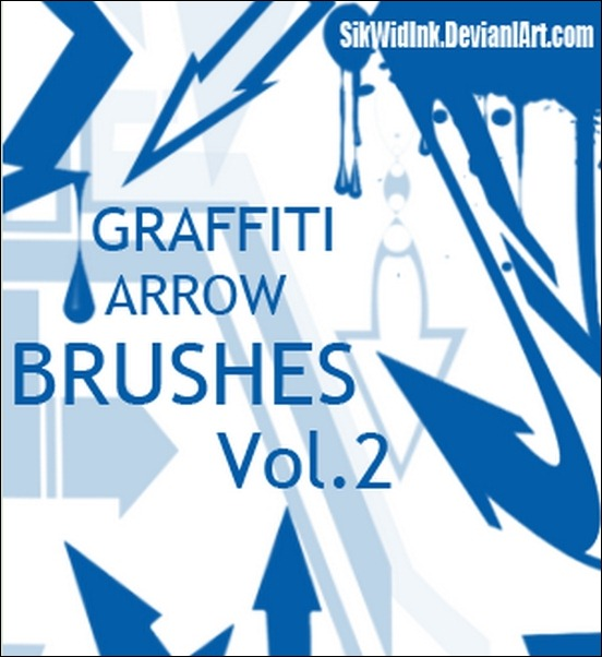 graffiti-arrow-brush-pack