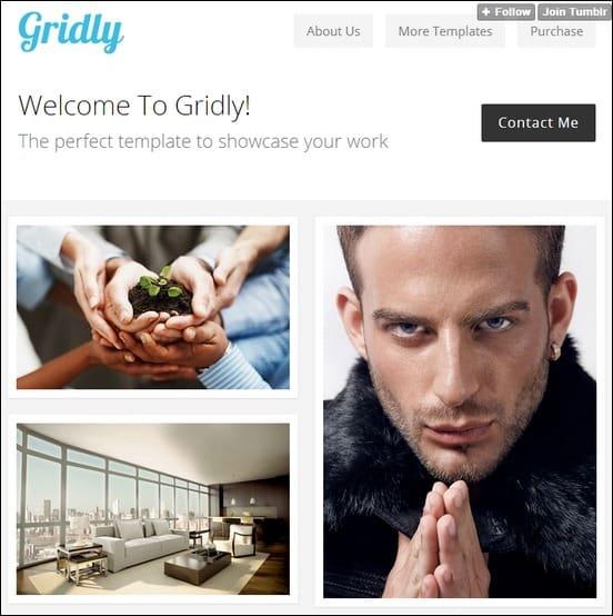 gridly-responsive-portfolio-template