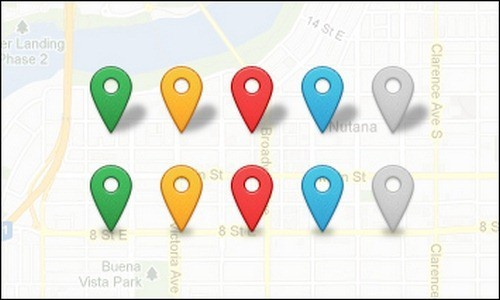 map-marker-icons