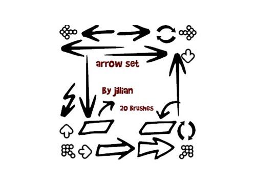 55+ Useful Sets of Photoshop Arrow Brushes   Tripwire Magazine