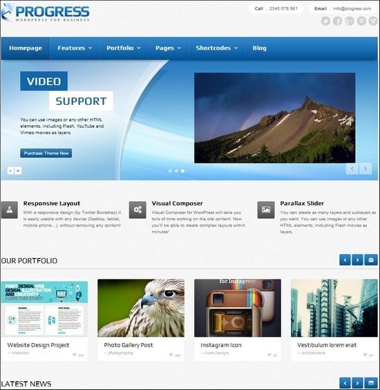 progress-responsive-theme