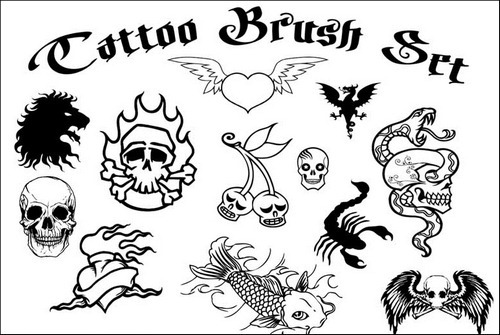 tattoo-brush