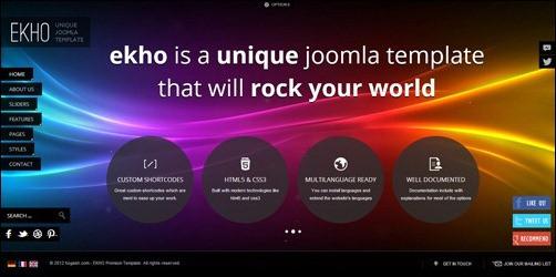 ekho Joomla 3.0 Template