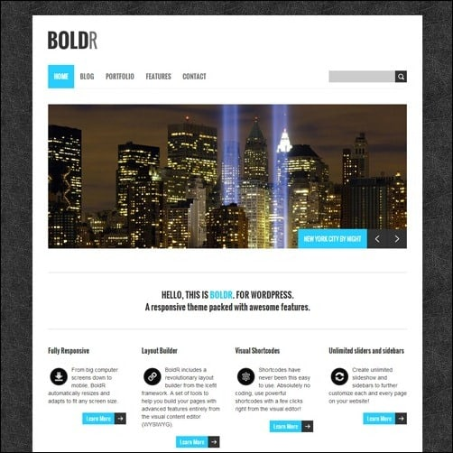 boldr free wordpress theme