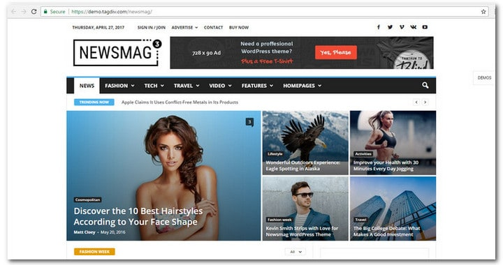 15+ Responsive WordPress News Themes To Impress Your Readers in 2017
