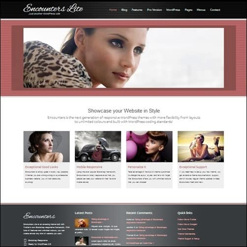 encounters-lite free wordpress theme