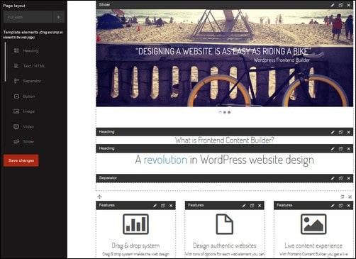 frontend builder best wp plugins