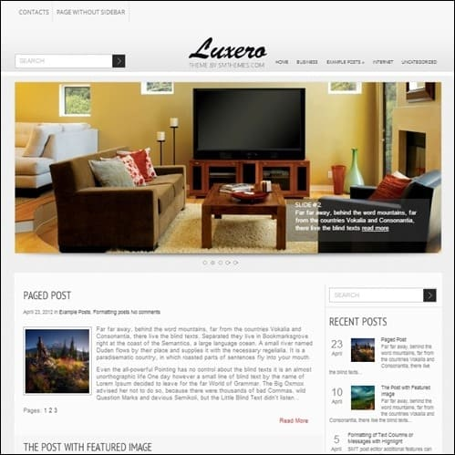 luxero-wp-theme