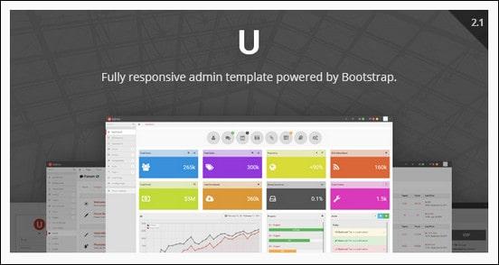uAdmin - Responsive Admin Dashboard Template