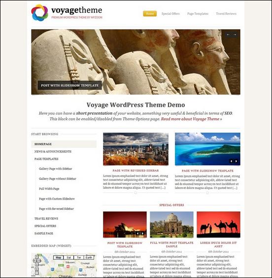 voyage theme news website WordPress Haber ve Portal Temaları