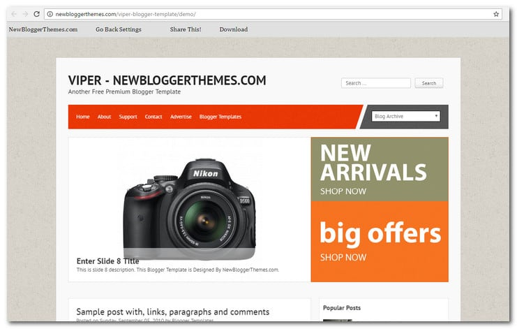15+ Best Responsive Blogger Templates – How To Get A Stylish