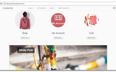 Review: Customizr – A Free Responsive WordPress Theme built with Twitter Bootstrap