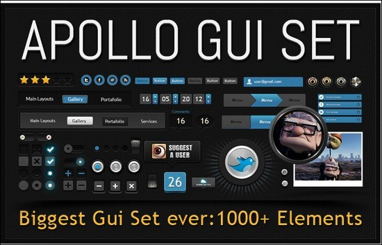 Apollo-GUI-Set