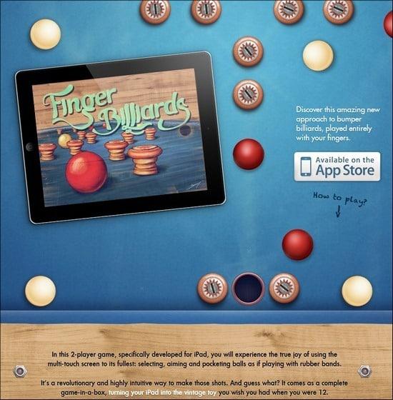 Finger-Billiards