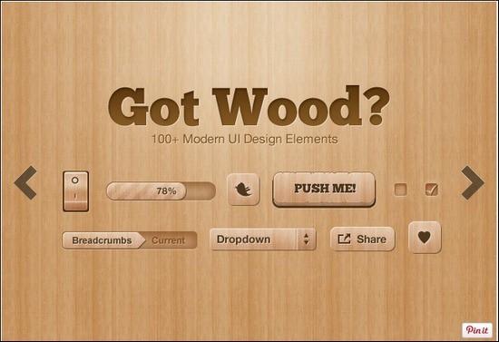 Got-Wood-Ui-Design-Elements