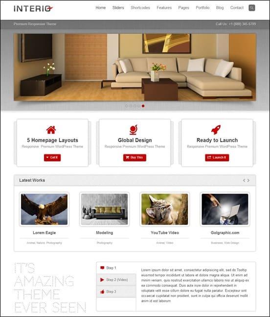 Interio - Responsive Multipurpose HTML Template