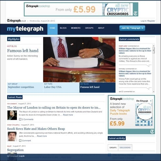 My-Telegraph
