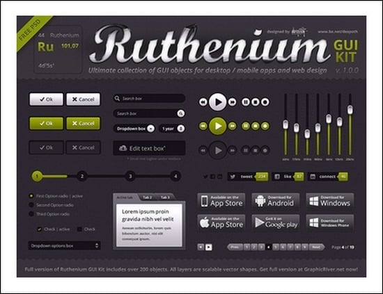 Ruthenium-GUI-Kit
