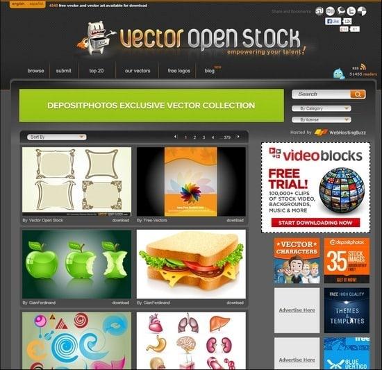 Vector-Open-Stock
