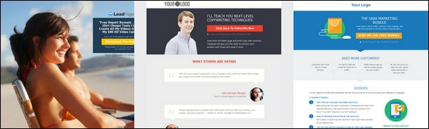 35+ Top Landing Page Templates To Boost Your Conversion