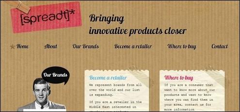 50+ Brilliant Websites Using Textures in Web Design