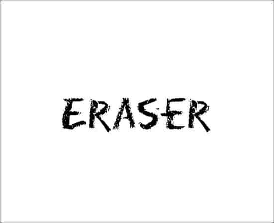 EraserFont