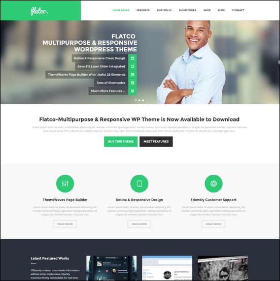 Flatco - Responsive Multipurpose WordPress Theme