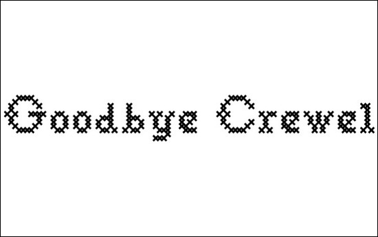 Goodbye-Crewel-World-NF-Font