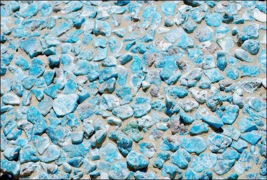 MoasicTextureinTurquoise