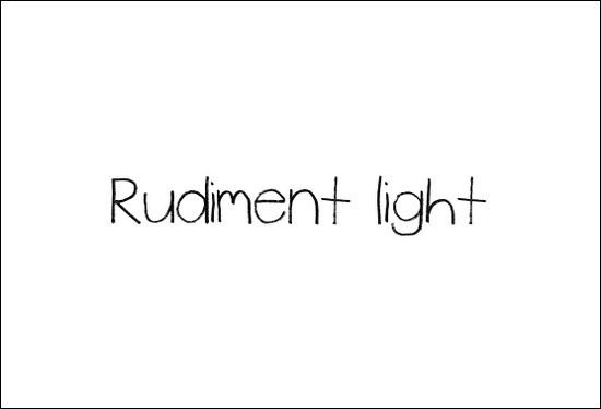 RudimentFont