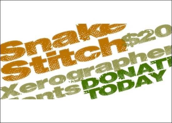 Snake-Stitch