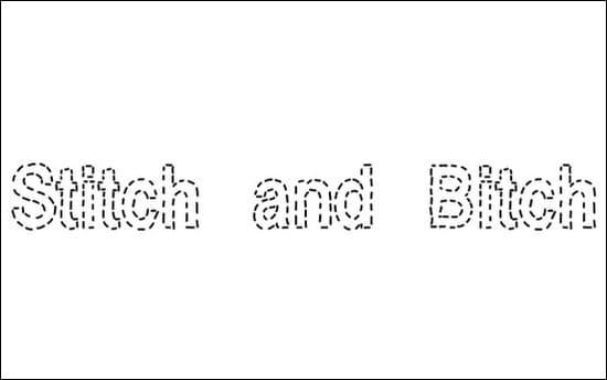Stitch-&-Bitch