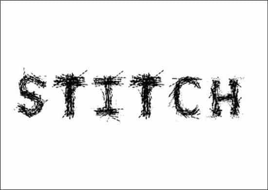 Stitch-Font