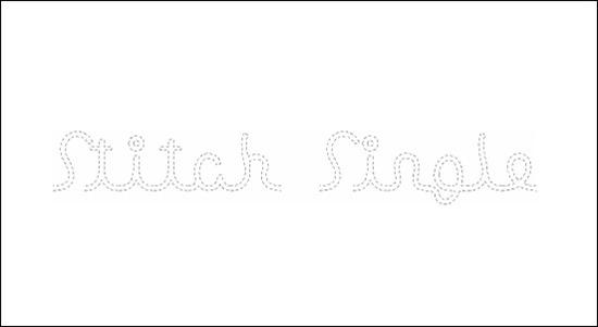 stitch-single
