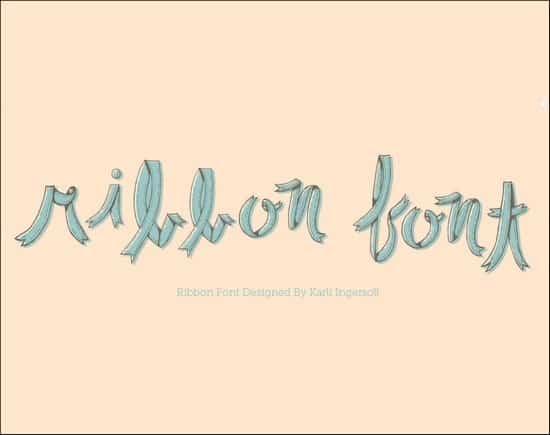 RibbonFont
