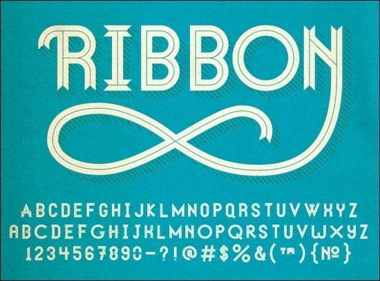 RibbonTypeface