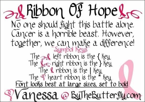 RibbonsofHope