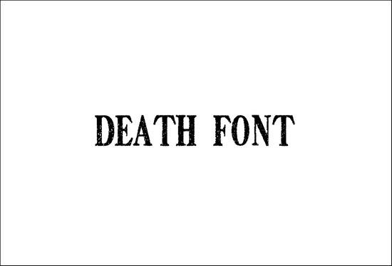 DeathFont