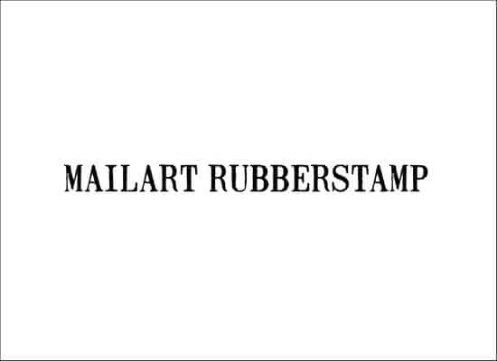 MailartRubberstamp