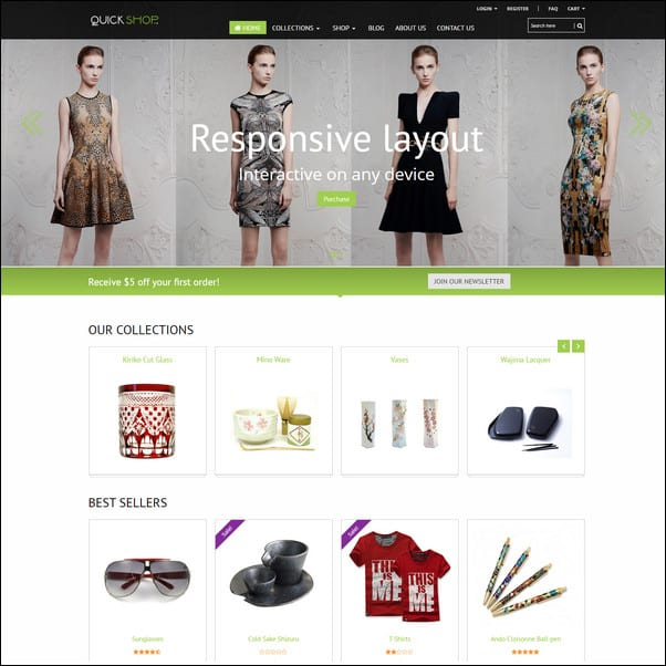 Quickshop Responsive Shopify Theme