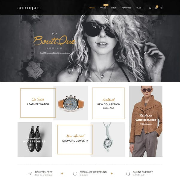 Boutique Multipurpose Responsive Shopify Theme