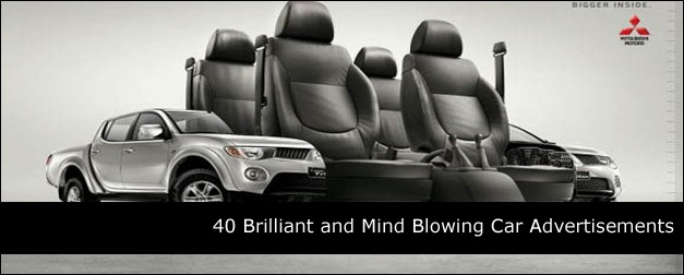 40 Brilliant and Mind Blowing Car Advertisements