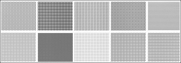 700+ Ready to Grab Free Photoshop Pixel Patterns